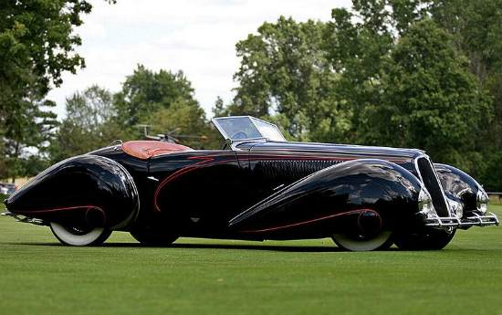 Delahaye 135 MS Torpedo Roadster