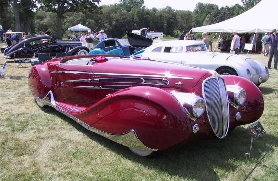 Delahaye 165 Cabriolet