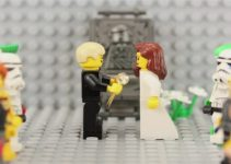 amor lego stop motion