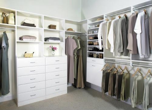 organizar armários e closets