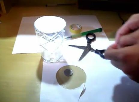 magica do copo