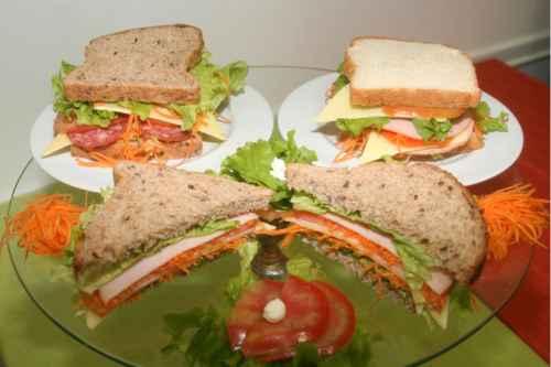 receita sanduiche natural