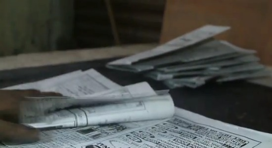 jornal escrito