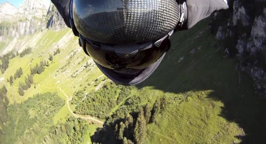 Jeb Corliss Wingsuit Fly