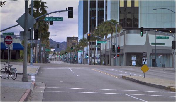 Los Angeles sem ninguém
