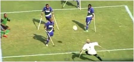 amputados futebol africa
