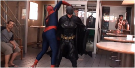 Homem Aranha vs Batman