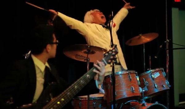 vovô baterista