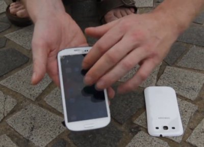 iPhone e Samsung S3