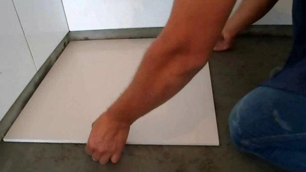 como assentar porcelanato