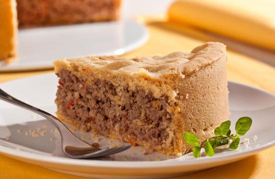fazer torta de carne